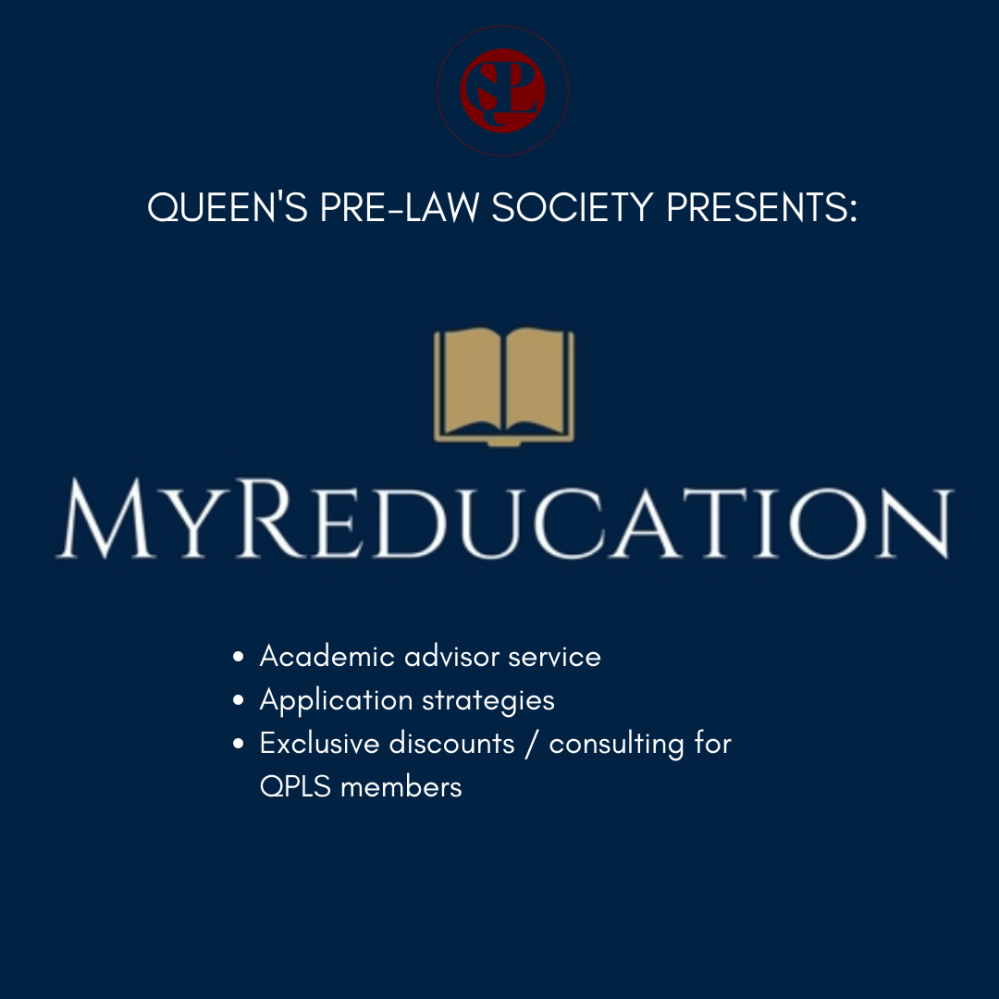 QUEEN'S PRE-LAW SOCIETY PRESENTS_